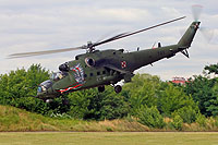 Helicopter-DataBase Photo ID:14863 Mi-24V (upgrade by WZL-1) 56th Army Aviation Base 741 cn:410741
