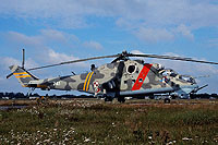 Helicopter-DataBase Photo ID:16896 Mi-24V 56th Combat Helicopters Regiment 741 cn:410741