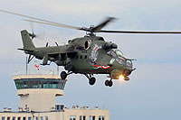 Helicopter-DataBase Photo ID:14494 Mi-24V (upgrade by WZL-1) 56th Army Aviation Base 741 cn:410741