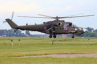 Helicopter-DataBase Photo ID:14860 Mi-24V (upgrade by WZL-1) 56th Army Aviation Base 741 cn:410741