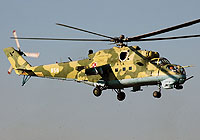 Helicopter-DataBase Photo ID:1651 Mi-24V 56th Combat Helicopters Regiment 956 cn:340956