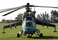 Helicopter-DataBase Photo ID:1657 Mi-24V 56th Combat Helicopters Regiment 956 cn:340956