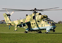 Helicopter-DataBase Photo ID:1659 Mi-24V 56th Combat Helicopters Regiment 956 cn:340956