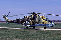Helicopter-DataBase Photo ID:18012 Mi-24V 56th Combat Helicopters Regiment 956 cn:340956