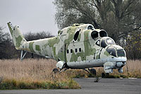 Helicopter-DataBase Photo ID:9664 Mi-24D 49th Army Aviation Base  cn:110163