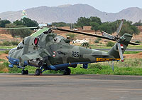Helicopter-DataBase Photo ID:5985 Mi-35 Sudanese Air Force 925