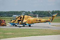 Helicopter-DataBase Photo ID:13802 Mi-24D Military Repair Facility Georgi Benkovski TZ-405 cn:150154