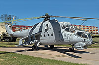 Helicopter-DataBase Photo ID:15902 Mi-24D Museum of the Armed Forces of the Republic of Kazakhstan  cn:340...04223