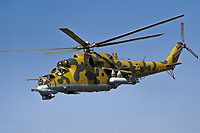 Helicopter-DataBase Photo ID:13230 Mi-24P Kazakhstan air force 30 yellow cn:3532433318353