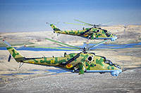 Helicopter-DataBase Photo ID:13229 Mi-24V Kazakhstan air force 36 yellow