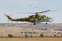 Helicopter-DataBase Photo ID:6428 Mi-24V Kazakhstan air force 40 yellow cn:3532423117301