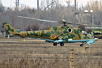 Helicopter-DataBase Photo ID:6490 Mi-24V Kazakhstan air force 43 yellow