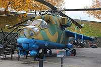Helicopter-DataBase Photo ID:16749 Mi-24V National Museum of the History of Ukraine in the Second World War 03 red cn:3532424117662