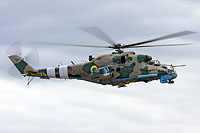 Helicopter-DataBase Photo ID:17201 Mi-24P Ukrainian Army Aviation 05 red cn:3532433420365