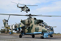 Helicopter-DataBase Photo ID:17454 Mi-24P Ukrainian Army Aviation 101 black