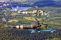 Helicopter-DataBase Photo ID:17453 Mi-24P Ukrainian Army Aviation 14 black