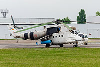 Helicopter-DataBase Photo ID:15170 Mi-24P Ukrainian Army Aviation 19 red