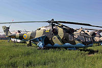 Helicopter-DataBase Photo ID:14671 Mi-24A State Aviation Museum 32 yellow cn:4202405