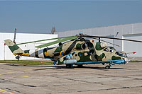 Helicopter-DataBase Photo ID:15168 Mi-24RCh Ukrainian Army Aviation 91 yellow cn:3534624812795
