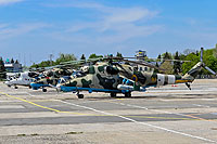Helicopter-DataBase Photo ID:15171 Mi-24RCh Ukrainian Army Aviation 91 yellow cn:3534624812795