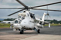 Helicopter-DataBase Photo ID:14164 Mi-24P United Nations UNO-473