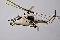Helicopter-DataBase Photo ID:14166 Mi-24P United Nations UNO-881