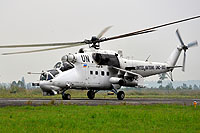 Helicopter-DataBase Photo ID:14165 Mi-24P United Nations UNO-883