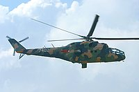 Helicopter-DataBase Photo ID:724 Mi-24A Vietnamese People's Army Air Force 7402