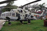 Helicopter-DataBase Photo ID:14226 Mi-24A Vietnam People's Air Force Museum 7430 cn:1200502