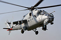 "Helicopter-DataBase Photo ID:15773 Mi-35 ""MIssion 24"" Indian Air Force Z3100 cn:110938"