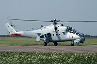 "Helicopter-DataBase Photo ID:15775 Mi-35 ""MIssion 24"" Indian Air Force Z3100 cn:110938"