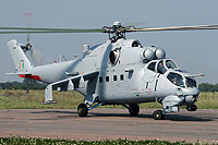 "Helicopter-DataBase Photo ID:15776 Mi-35 ""MIssion 24"" Indian Air Force Z3100 cn:110938"