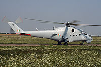 "Helicopter-DataBase Photo ID:15777 Mi-35 ""MIssion 24"" Indian Air Force Z3100 cn:110938"