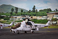"Helicopter-DataBase Photo ID:14187 Mi-35 ""MIssion 24"" United Nations Z3134 cn:110946"