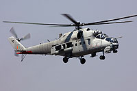 "Helicopter-DataBase Photo ID:16986 Mi-35 ""MIssion 24"" Indian Air Force Z3140 cn:110952"
