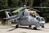 "Helicopter-DataBase Photo ID:15767 Mi-35 ""MIssion 24"" Indian Air Force Z3141 cn:110953"