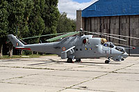 "Helicopter-DataBase Photo ID:15770 Mi-35 ""MIssion 24"" Indian Air Force Z3141 cn:110953"