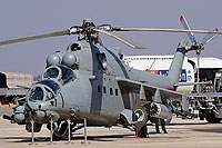 "Helicopter-DataBase Photo ID:17081 Mi-35 ""MIssion 24"" mod Indian Air Force ZT3101 cn:110939"