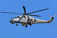 "Helicopter-DataBase Photo ID:17571 Mi-35 ""MIssion 24"" mod Indian Air Force ZT3132 cn:110944"