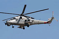 "Helicopter-DataBase Photo ID:17570 Mi-35 ""MIssion 24"" mod Indian Air Force Z3137 cn:110949"