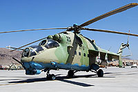 Helicopter-DataBase Photo ID:9305 Mi-24V Afghan Air Force 101 cn:520961