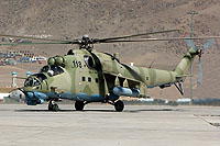 Helicopter-DataBase Photo ID:6556 Mi-24V (upgrade for Afghanistan) Afghan National Army Air Force 118 cn:730812