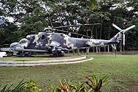 Helicopter-DataBase Photo ID:2144 Mi-25 Fuerza Aerea Sandinista 361