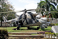 Helicopter-DataBase Photo ID:16125 Mi-25 Fuerza Aerea Sandinista 361