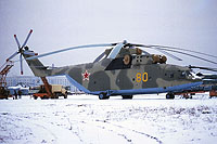 Helicopter-DataBase Photo ID:17507 Mi-26 Russian Air Force 80 yellow cn:34001212081