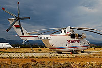 Helicopter-DataBase Photo ID:12848 Mi-26T Scorpion Air Ltd. EW-329TF cn:34001212504