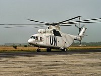 Helicopter-DataBase Photo ID:1215 Mi-26T United Nations RA-06121 cn:34001212305