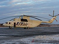 Helicopter-DataBase Photo ID:1352 Mi-26T UTair - Helicopter Services RA-06121 cn:34001212305