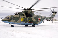 Helicopter-DataBase Photo ID:14436 Mi-26 Russian Air Force 66 yellow cn:34001212055