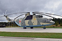 Helicopter-DataBase Photo ID:13987 Mi-26 Park Patriot 80 yellow cn:34001212081